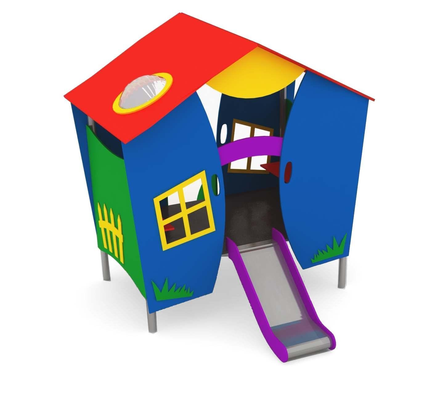 Domek CM-0605 place zabaw projekty realizacje