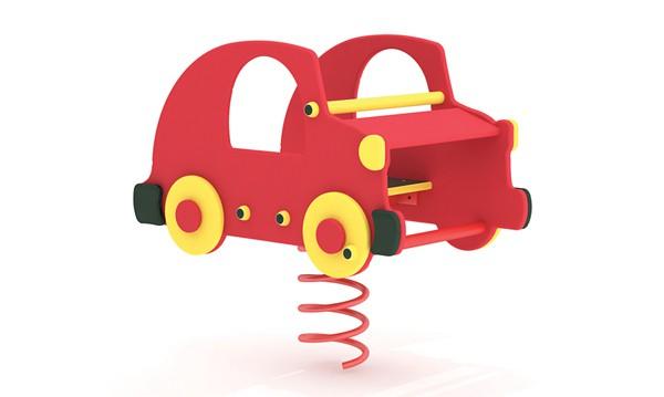 Sprężynowiec Auto place zabaw projekty realizacje