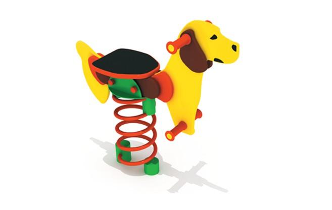 Sprężynowiec Pies place zabaw projekty realizacje