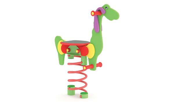 Sprężynowiec Dino place zabaw projekty realizacje