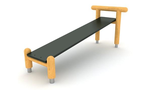 Ławka gimnastyczna place zabaw projekty realizacje
