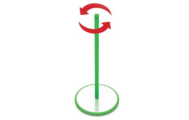 Karuzela Twister place zabaw projekty realizacje
