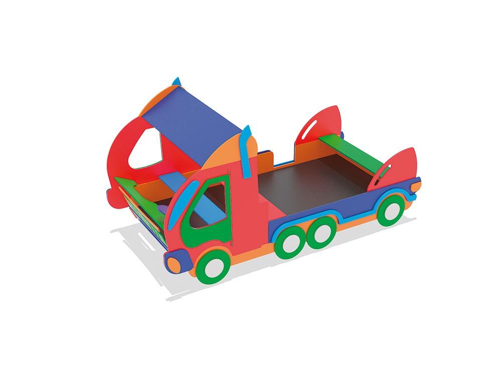 Ciężarówka place zabaw projekty realizacje