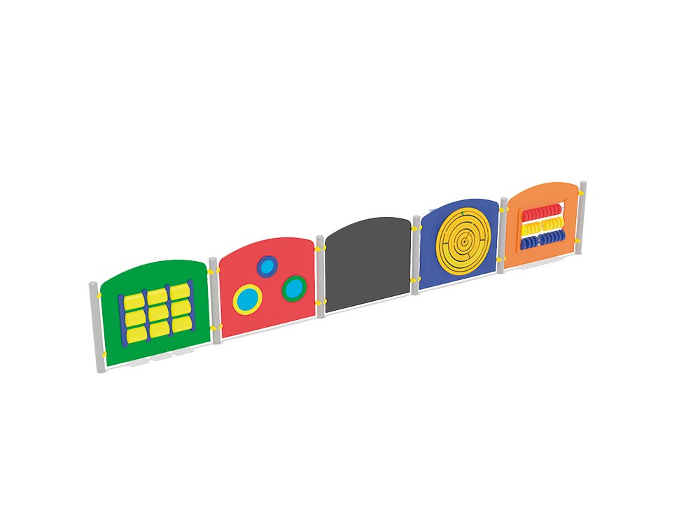 Barierki edukacyjne place zabaw projekty realizacje
