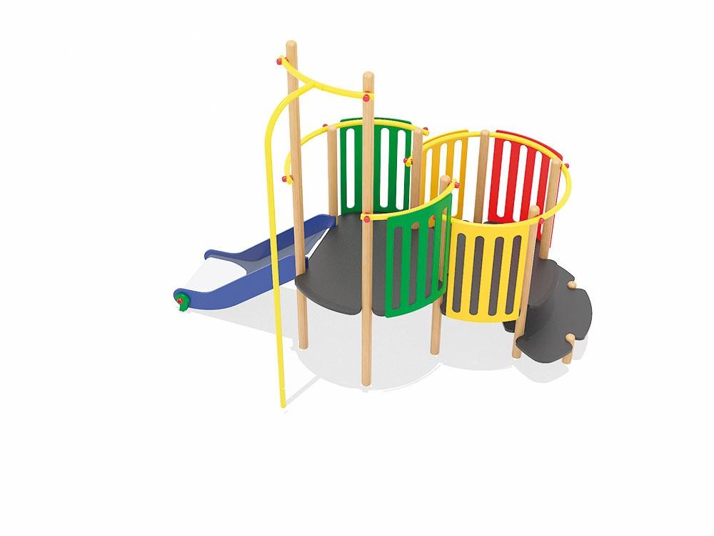 Zestaw 4 place zabaw projekty realizacje