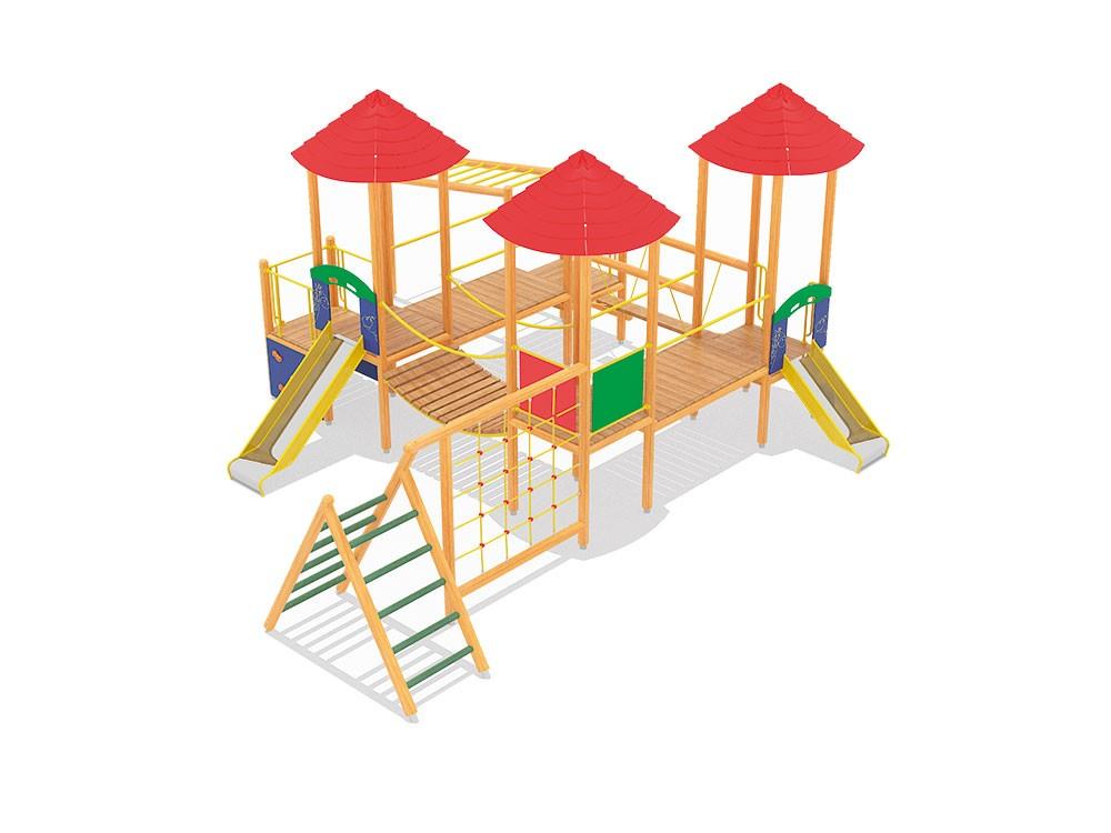 Ancymon 3 E place zabaw projekty realizacje