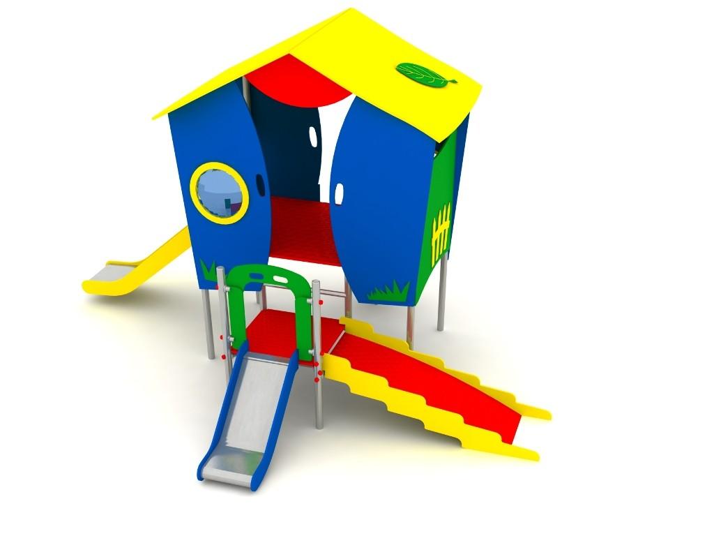 Domek MM-0700 place zabaw projekty realizacje